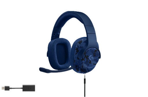 Logitech G433 Binaural Head-band Indigo Blue headset (981-000682) - V&L Canada
