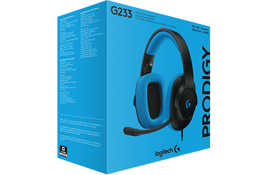 Logitech Prodigy G233 Binaural Head-band Black,Blue headset (981-000701) - V&L Canada
