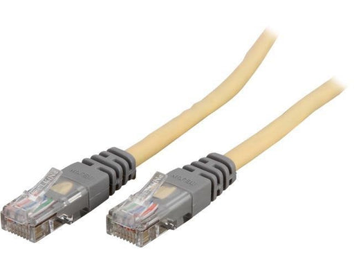 Belkin  50 ft. Cat 5E CrossoverYellow Cat5e Crossover Cable (A3X126-50-YLW-M( - V&L Canada