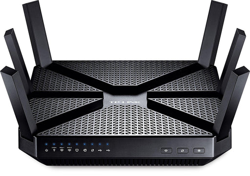 TP-LINK AC3200 Tri-band (2.4 GHz / 5 GHz / 5 GHz) Gigabit Ethernet Black wireless router (ARCHER C3200) - V&L Canada