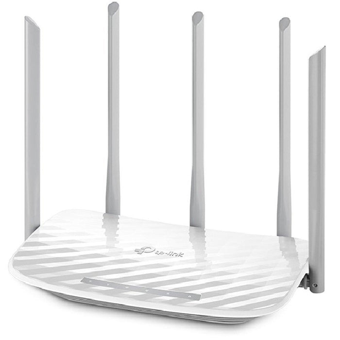 TP-LINK AC 1350 Dual-band (2 4 GHz / 5 GHz) Fast Ethernet White wireless  router (ARCHER C60)