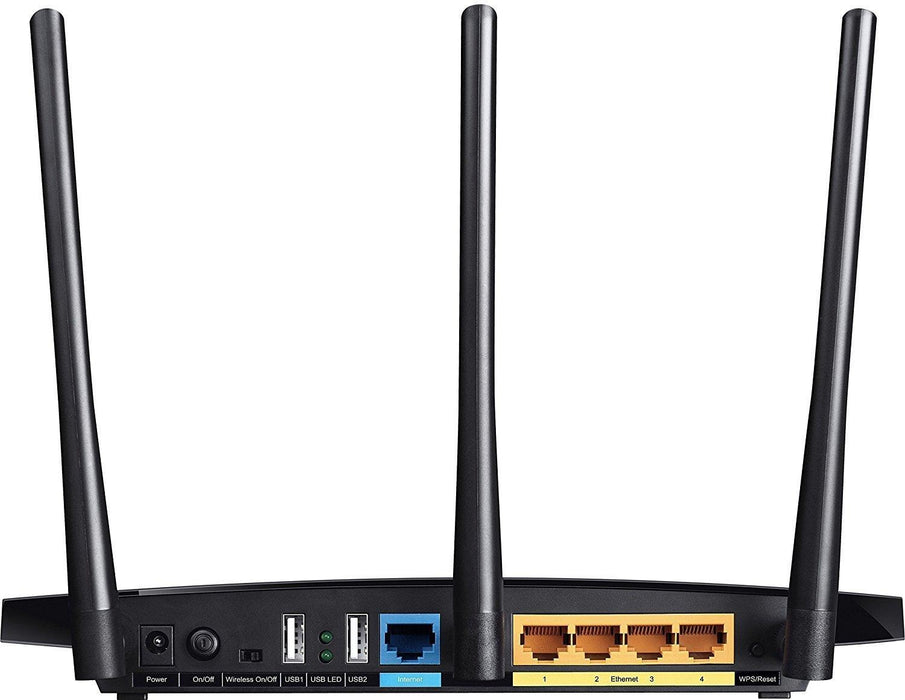 TP-LINK Archer C7 Dual-band (2.4 GHz / 5 GHz) Gigabit Ethernet Black wireless router (Archer C7) - V&L Canada