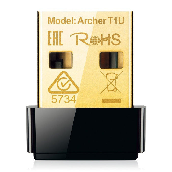 TP-Link Archer T1U AC450 802.11ac/a/n Wireless Nano USB Adapter - V&L Canada