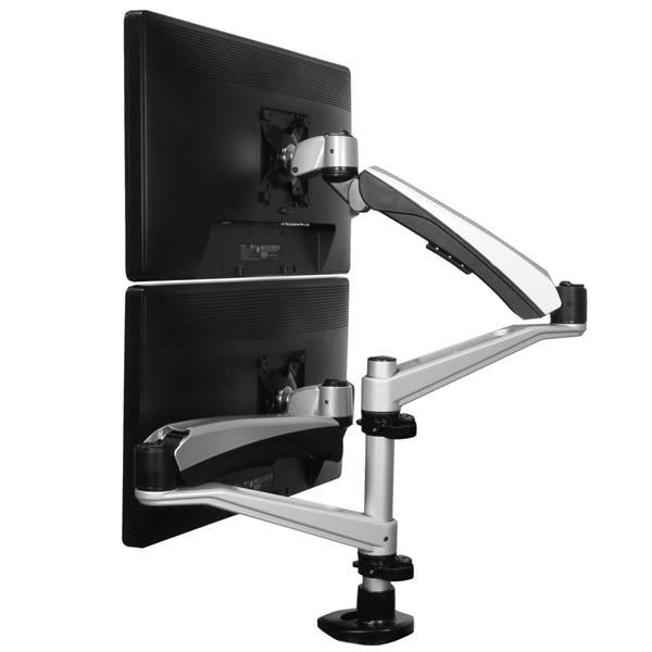 StarTech Accessory  Full-Motion Dual Monitor Mount Arms Stackable Retail ARMDUAL30 - V&L Canada