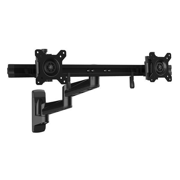 StarTech.com Wall-Mount Dual Monitor Arm - Articulating ARMDUALWALL - V&L Canada