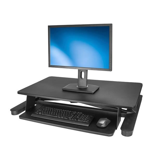 StarTech Accessory Sit-Stand Desk Converter With 35 inch Work Surface Retail ARMSTSL - V&L Canada