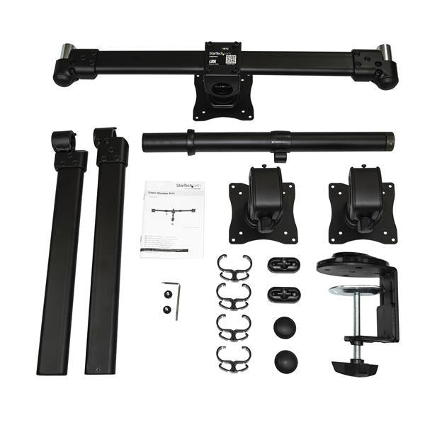 StarTech Accessory  Triple Monitor Arm up to 24 inch Retail ARMTRIO - V&L Canada