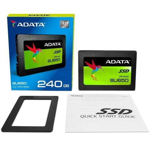 "ADATA Ultimate SU650 240GB 2.5"" Serial ATA III (ASU650SS-240GT-C)"