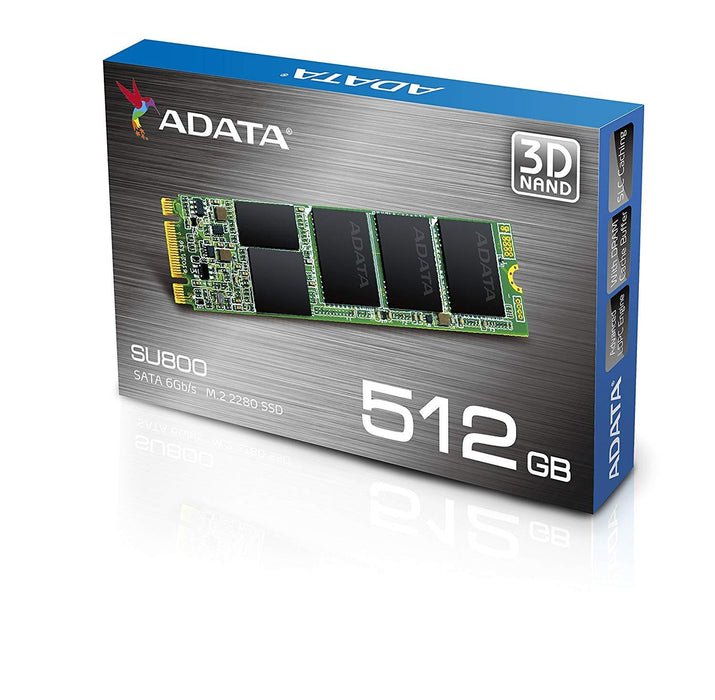 ADATA ASU800NS38-512GT-C 512GB M.2 Serial ATA III internal solid state drive