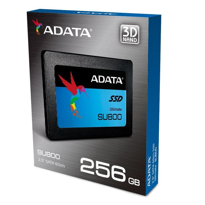 A-DATA USA Ultimate Su800 256GB 3D Nand 2.5 Inch SATA III Internal Solid State Drive - V&L Canada