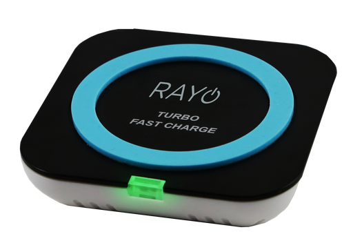 RAYO Turbo Fast Qi-Certified Wireless Charger/Charging Pad 15w Intelligent Charger