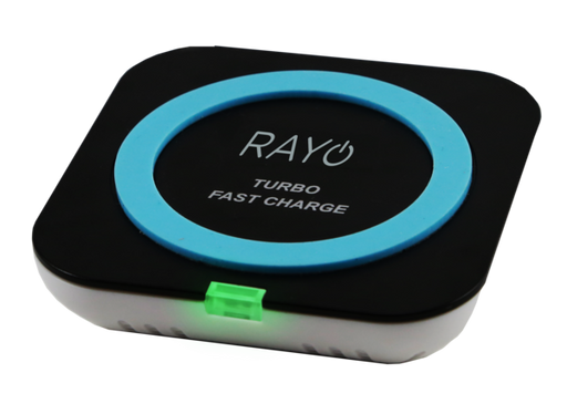 RAYO Turbo Fast Qi-Certified Wireless Charger & Phoenix Cable Type C to Type C 1.8M