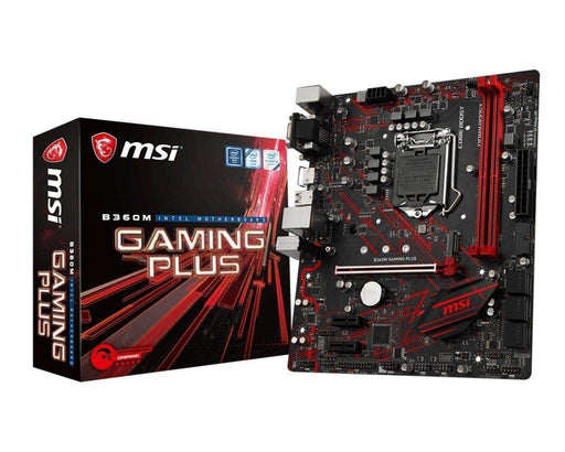 MSI MB B360M GAMING PLUS B360 S1151 64GB DDR4 DVI HDMI D-Sub mATX Retail