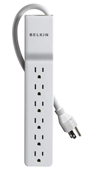 Belkin 6-Outlet Home/Office Surge Protector 4 Feet   BE106000-04 - V&L Canada