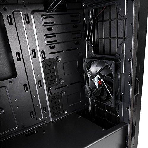 BitFenix Enso Black RGB Tempered Glass Window E-ATX Mid Tower Case  (Supports ASUS AURA SYNC) (BFC-ENS-150-KKWGK-RP)