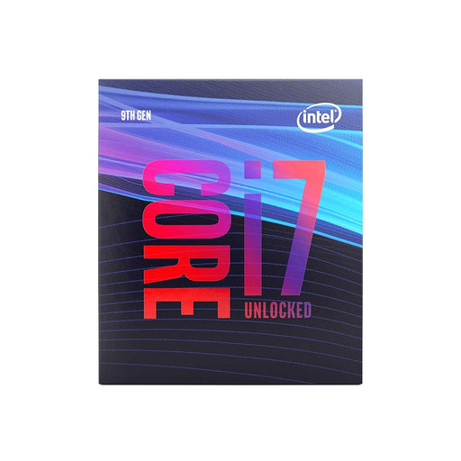 Intel CPU BX80684I79700K Core i7-9700K Boxed 12MB Cache 3.6GHz LGA1151 8Core / 8Thread Retail