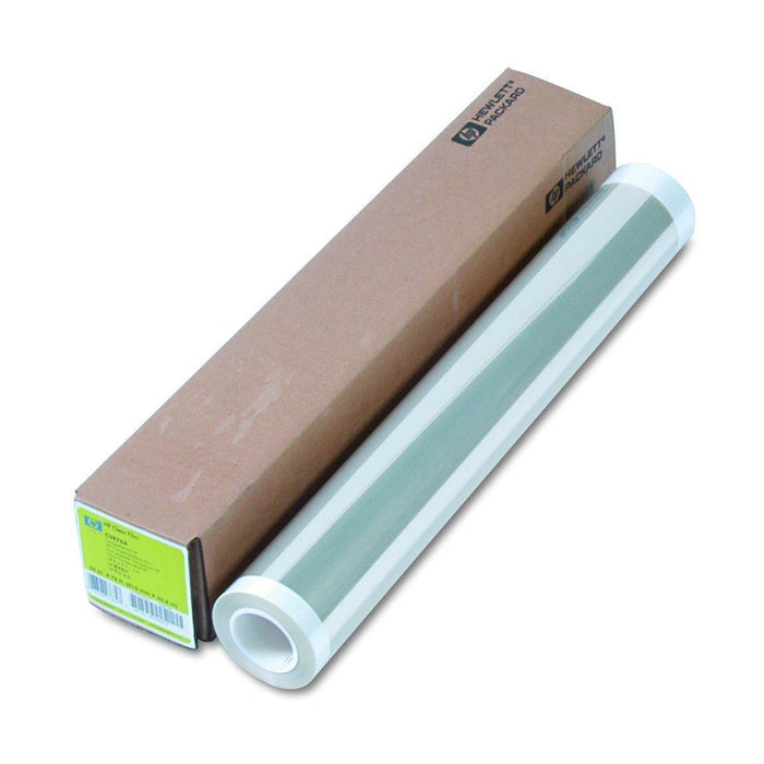 HP Clear Film 174 gsm-610 mm x 22.9 m (24 in x 75 ft) printing film (C3876A)