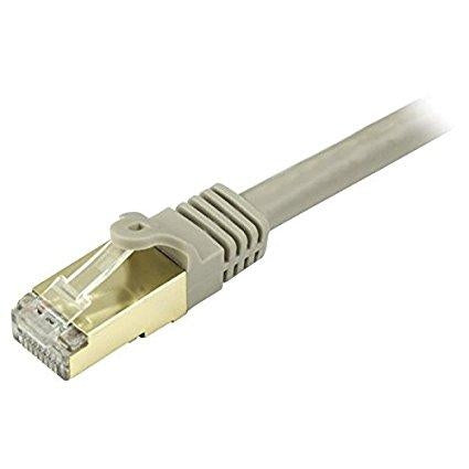 StarTech.com Cat6a Ethernet Patch Cable - Shielded (STP) - 35 ft., Gray C6ASPAT35GR - V&L Canada