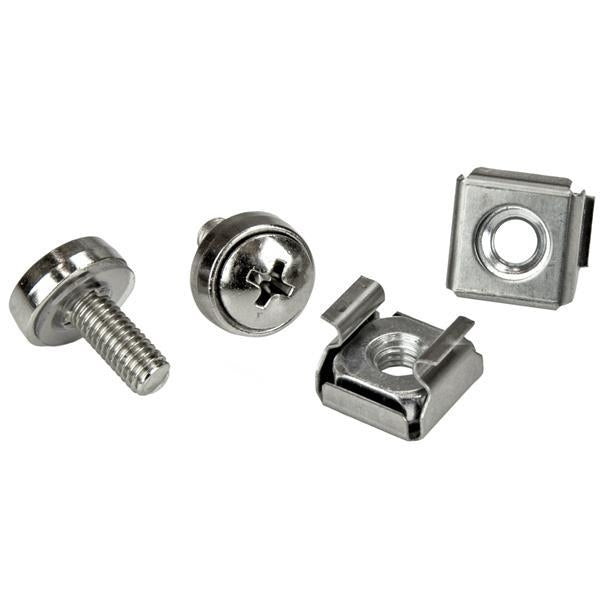StarTech.com 100 Pkg M5 Mounting Screws and Cage Nuts for Server Rack Cabinet CABSCREWM52 - V&L Canada