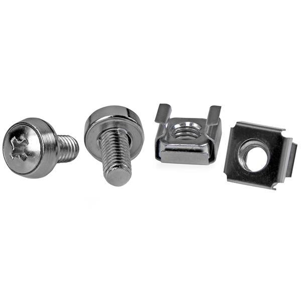 StarTech.com 50 Pkg M6 Mounting Screws and Cage Nuts for Server Rack Cabinet CABSCREWM6 - V&L Canada