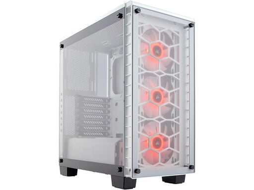 Corsair Crystal 460X RGB Midi-Tower White computer case (CC-9011129-WW) - V&L Canada