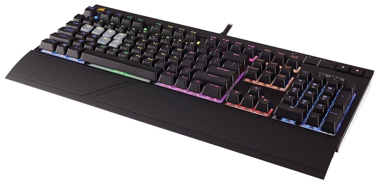 0d8237f4bcc CORSAIR STRAFE RGB Mechanical Gaming Keyboard Cherry MX Brown Switch - RGB  LED Backlit (CH