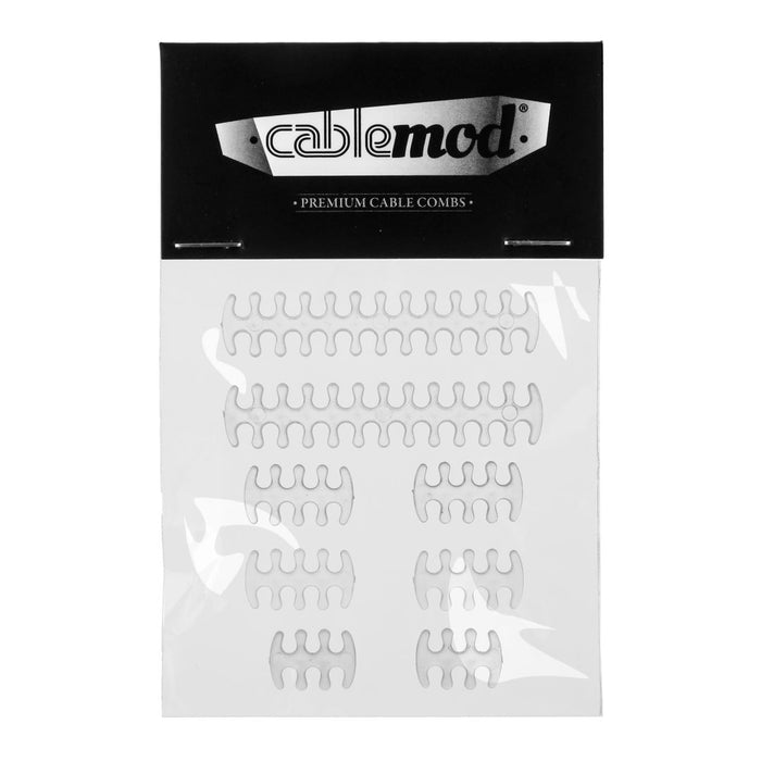 CableMod Basic Cable Comb Kit - C-SERIES Transparent - Retail - V&L Canada