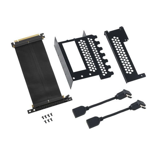 CableMod Vertical PCI-e Bracket - 2 x HDMI - BLACK