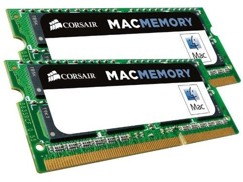 Corsair Apple Certified 16GB (2x8 GB) DDR3L 1600MHz PC3 12800 Laptop Memory (CMSA16GX3M2A1600C11) - V&L Canada