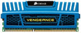 Corsair Vengeance Blue 8 GB, 2X4 GB, PC3-12800 1600mHz DDR3 240-Pin SDRAM Dual Channel Memory Kit (CMZ8GX3M2A1600C9B) - V&L Canada