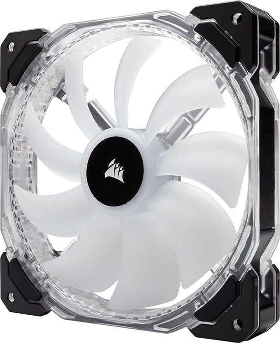 Corsair HD Series HD140 RGB LED 140mm High Performance RGB LED PWM Single Fan No Control Corsair HD Series (CO-9050068-WW) - V&L Canada
