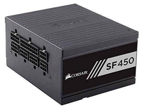 Corsair SF Series, SF450, SFX Form Factor, 450 Watt (450W), Fully Modular Power Supply, 80+ Gold Certified (CP-9020104-NA) - V&L Canada