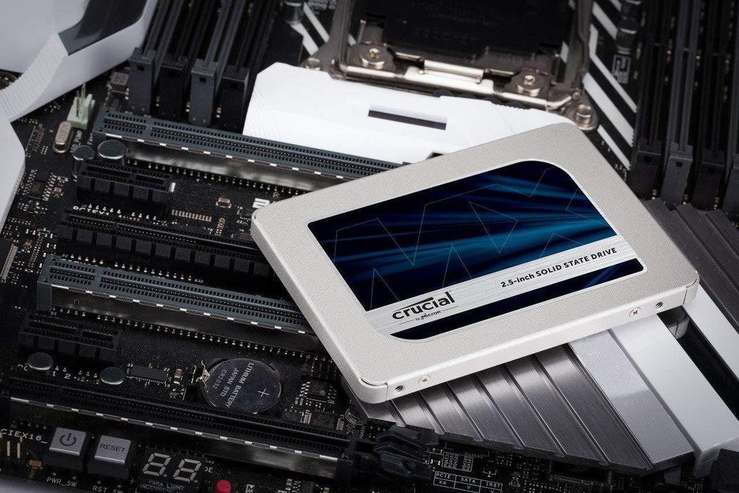 Crucial MX500 250GB SATA 2.5-inch 7mm(with 9.5mm adapter) Internal Solid State D (CT250MX500SSD1)