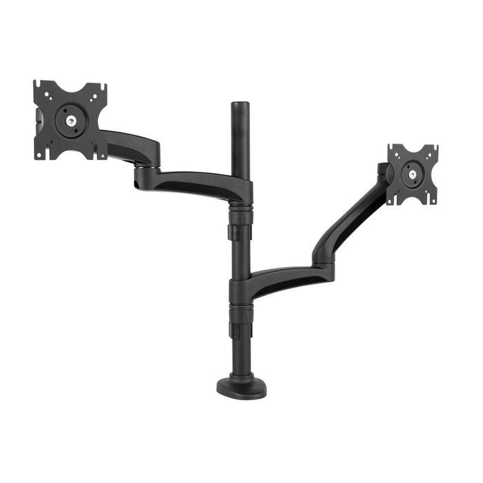 Kanto DM2000 Dual-Monitor Desktop Mount for 13-inch to 27-inch Displays - V&L Canada