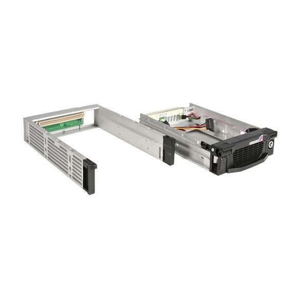 StarTech Removable Storage Device Black 5.25inch Professional SATA HDD Rack Drawer Retail (DRW115SATBK) - V&L Canada