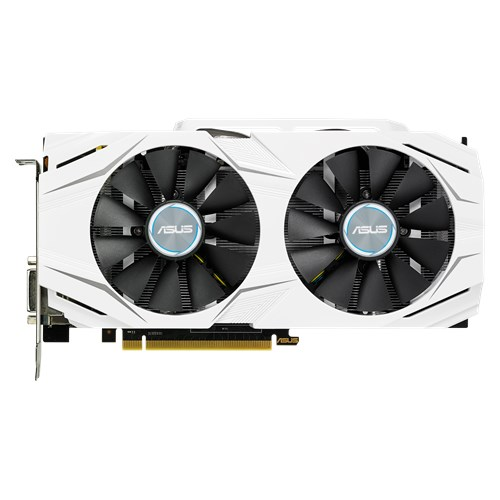 Asus Video Card DUAL-GTX1070-O8G 8GB GDDR5 256Bit PCI Express HDMI/DVI-D/DisplayPort Dual-fan OC Edition Retail - V&L Canada