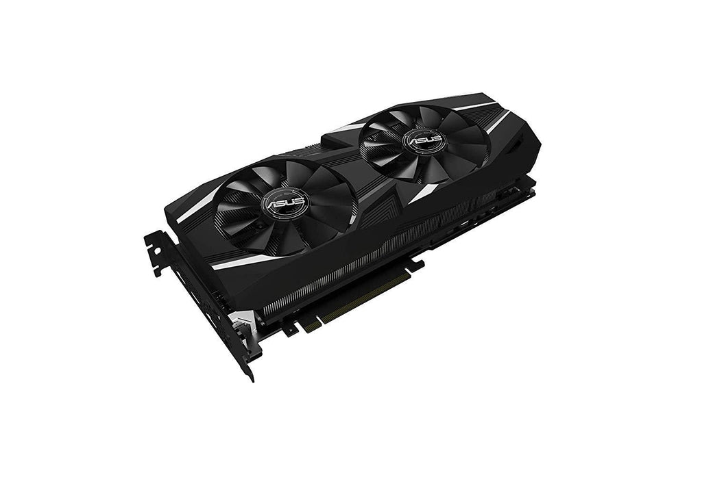 ASUS Video Card DUAL-RTX2080TI-O11G Dual GeForce RTX 2080 Ti OC 11GB GDDR6 USB HDCP HDMI Retail