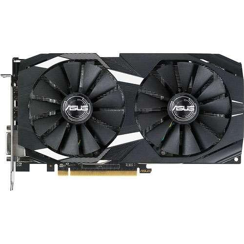 Asus Video Card DUAL-RX580-O4G RX 580 4GB GDDR5 OC 256Bit DisplayPort/HDMI/DVI VR Ready Retail - V&L Canada