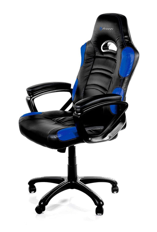 Arozzi Enzo Universal gaming chair Padded seat (ENZO-BL) - V&L Canada