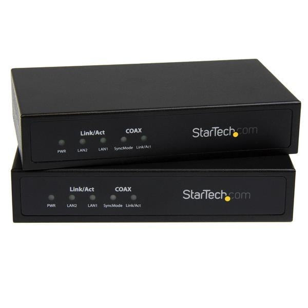 StarTech Accessory 10/100/1000 Ethernet over Coaxial Network Extender Kit Retail (EOC1110K) - V&L Canada