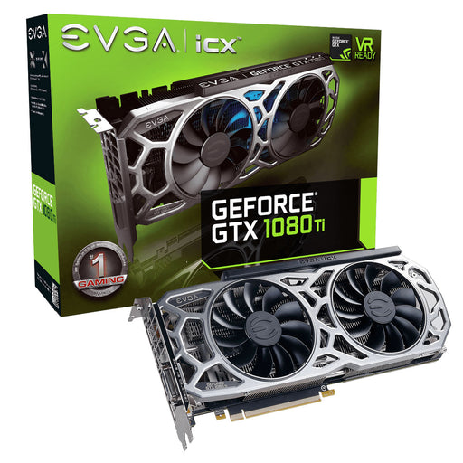 EVGA GeForce GTX 1080 Ti SC2 ELITE GAMING, 11G-P4-6693-KR, 11GB GDDR5X, iCX Technology - 9 Thermal Sensors & RGB LED G/P/M - V&L Canada