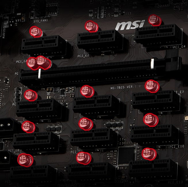 MSI BLOCKCHAIN F-12 (Local Pick Up Only)