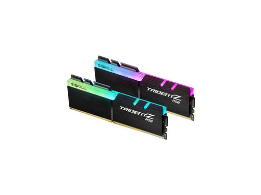 G.Skill DDR4 TridentZ RGB 3600Mhz PC4-28800 CL18 1.35V Dual Channel Kit (2x8GB) for Intel Z270 (F4-3600C18D-16GTZRX)