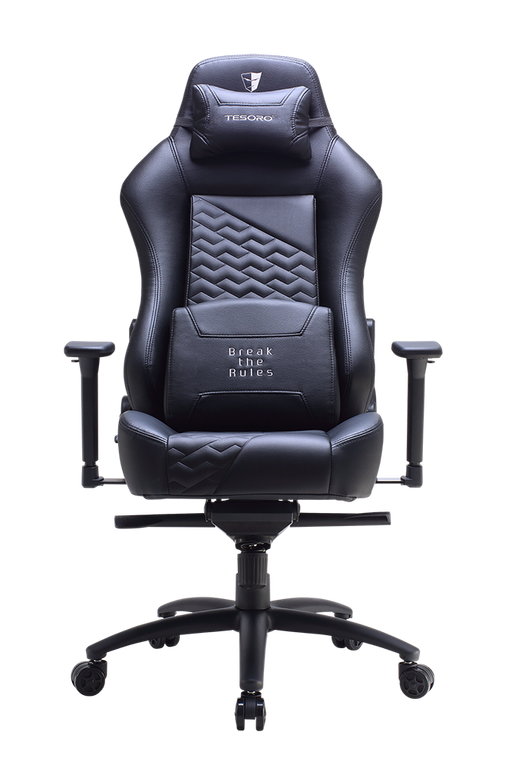 Tesoro Zone Evolution Gaming Chair TS-F730, Black - V&L Canada
