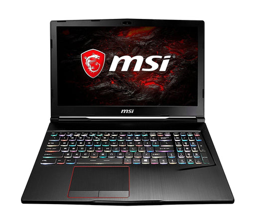 "MSI Gaming GE63VR 7RE-010CA Raider 2.8GHz i7-7700HQ 15.6"" 1920 x 1080pixels Black Notebook"