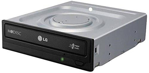 Image of LG Storage GH24NSC0 DVDRW 24X SATA without software Black Bare (GH24NSC0B)