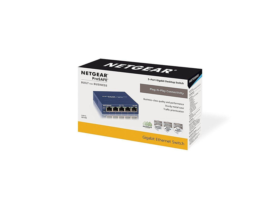 Netgear GS105 Unmanaged network switch (GS105NA) - V&L Canada