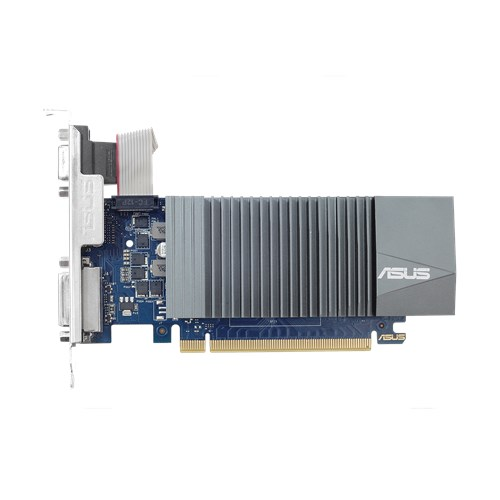 Asus Video Card GT710-SL-1GD5-BRK GeForce GT710 GDDR5 1GB 32Bit PCI Express DVI/HDMI Retail - V&L Canada