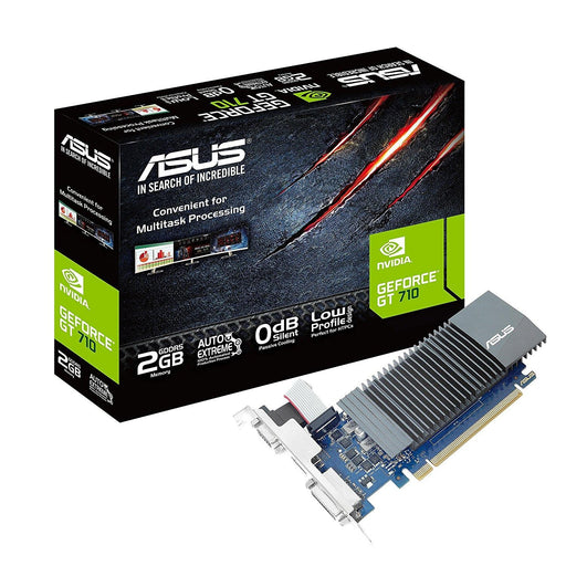 ASUS GeForce GT 710 2GB GDDR5 HDMI VGA DVI Graphics Card Graphic Cards GT710-SL-2GD5-CSM - V&L Canada