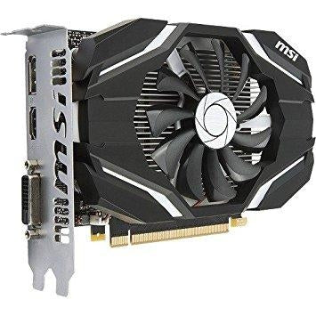 MSI Video Card GTX 1050 2G OC G10502C 2GB GDDR5 128Bit PCI Express HDMI/DL-DVI-D/DisplayPort Retail